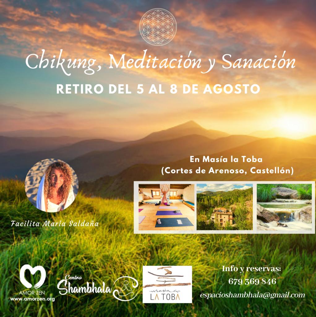 Retiro Verano Chikung Meditación y Sanación
